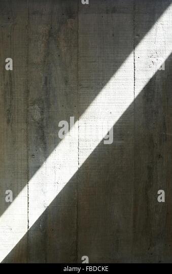 Full-Frame-Schuss aus Holz mit Sonnenlicht Stockbild