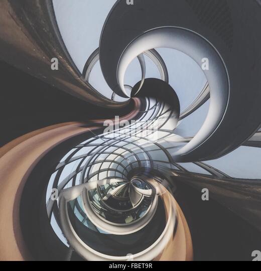 Digitalen zusammengesetztes Bild des Gebäudes Stockbild