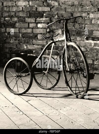 Altmodische Dreirad für Kinder Stockbild