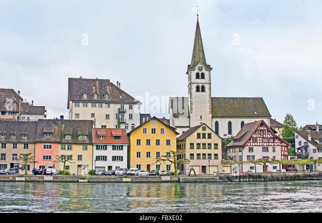 Diessenhofen, Schweiz Stockbild