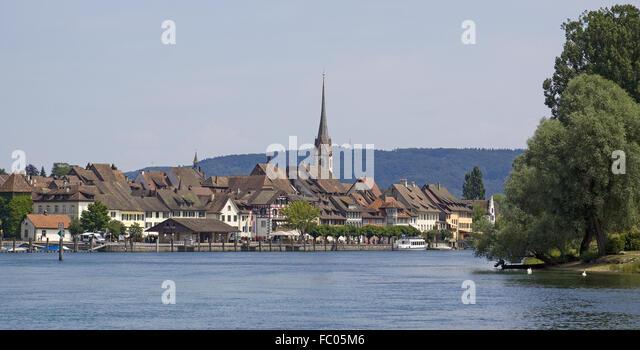 Stein am Rhein Stockbild