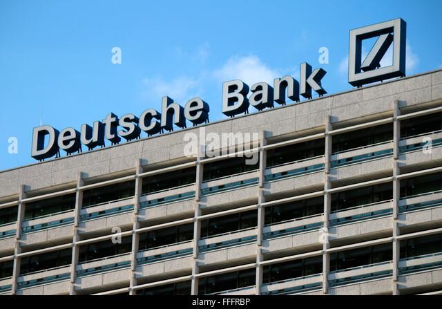 "Markennamen: ""Deutsche Bank"", Berlin. Stockbild"
