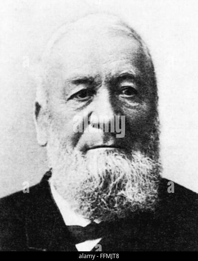 Niklaus Riggenbach, Ende 19. Jh. Stockbild