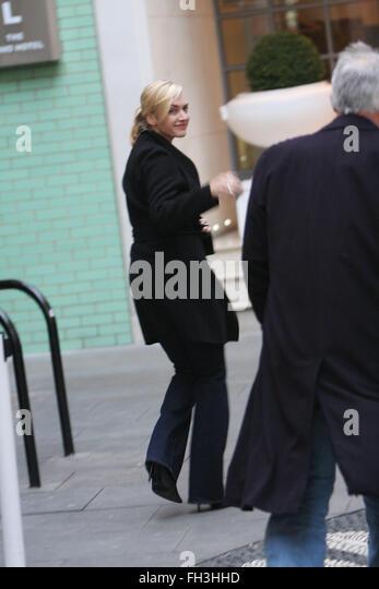 Kate Winslet Soho in London (Kredit Bild © Jack Ludlam) Stockbild