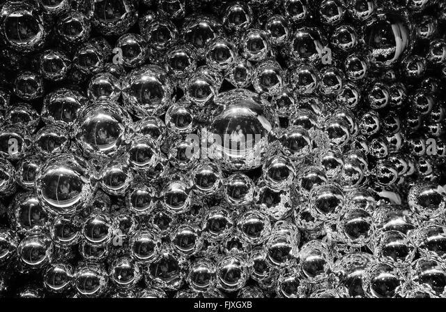 Full-Frame-Schuss Blasen Stockbild