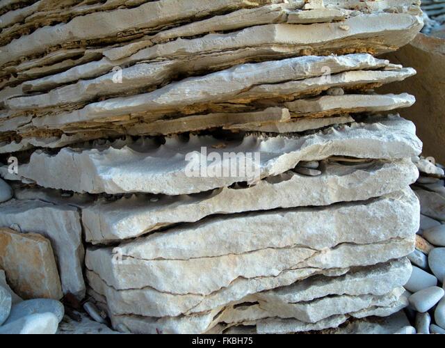 Fernsehreihe, Istrien, Insel Veli Brijuni Im Nationalpark Brijuni-Inseln Vor Pula. Felsenformation. Stockbild