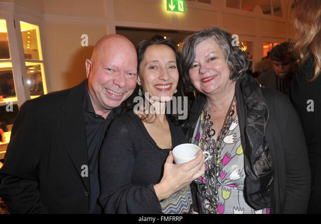 Askania Award am Hotel Kempinski mit: Chris Arend, Sandra Nedeleff, Ilse Biberti wo: Berlin, Deutschland bei: 9. Stockbild
