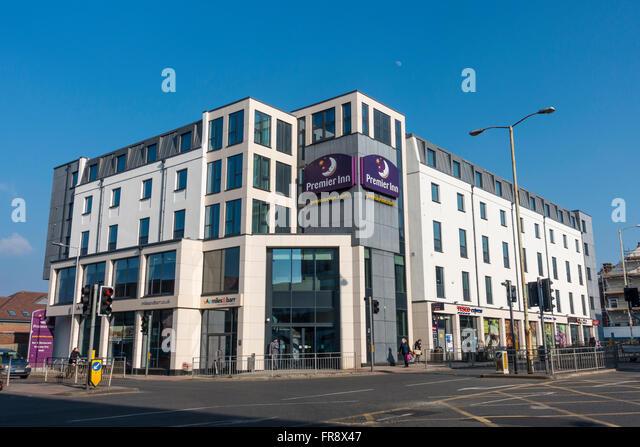 Premiere Inn Hotel neue Dover Straße Canterbury Kent UK Stockbild