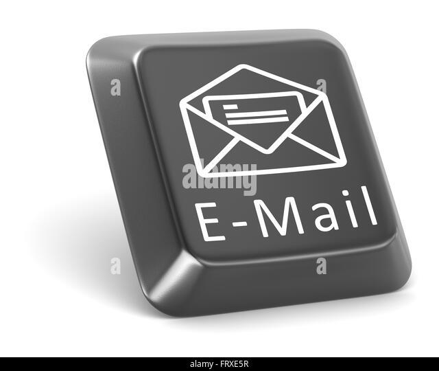 "Schaltfläche ""E-Mail"" Stockbild"