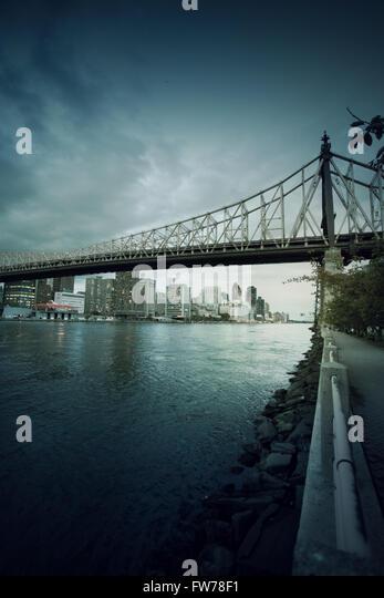 Stadtbild von New York Stockbild