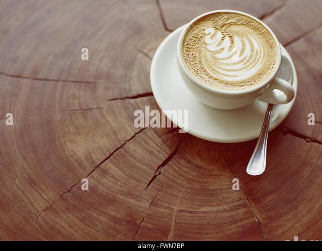 Quintessenz Kaffeekultur Stockbild
