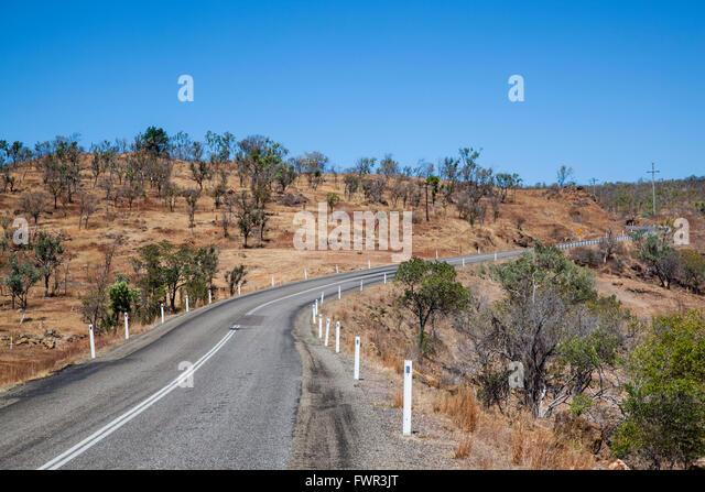 Australien, Queensland, Savannah Way, Gulf Developmental Road Stockbild