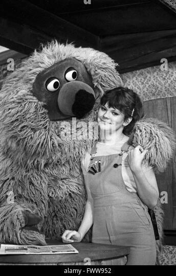Sesamstraße, Kindersendung, Deutschland 1979, Mitwirkende: Samson, Ilse Biberti Stockbild