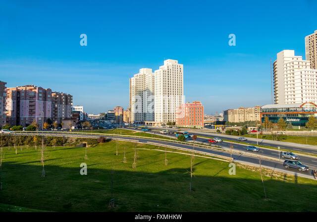 Urbanen Straßenbild von Istanbul, Türkei Stockbild