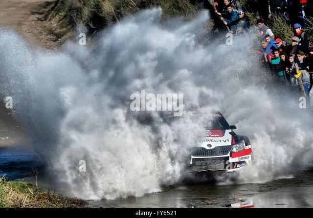 Argentinien. 22. April 2016. WRC-Motorsport WRC-Rallye Argentinien. FUCHS-Credit: Aktion Plus Sport/Alamy Live-Nachrichten Stockbild