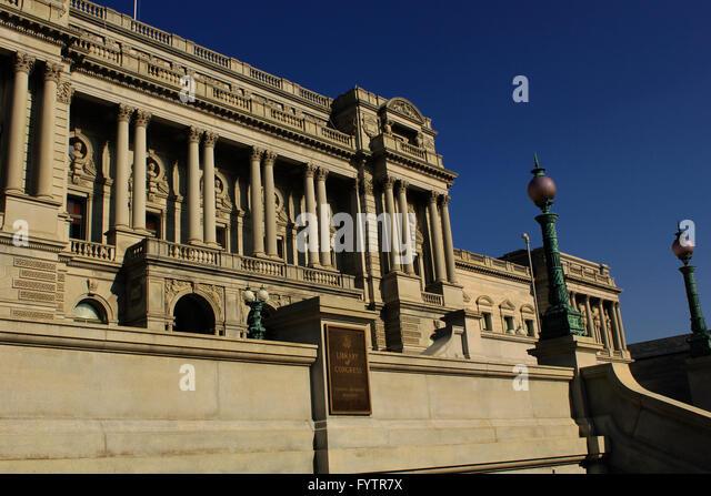 Bibliothek des Kongresses Jefferson building Brian Mcguire Stockbild