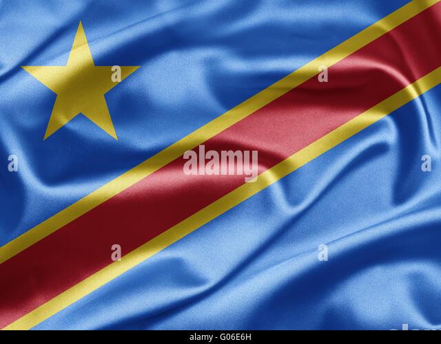 Demokratische Republik Kongo Stockbild