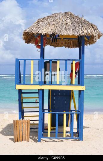 Caribian Baywatch Stockbild