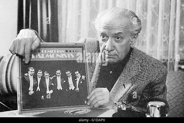 Comedian Harmonists, sterben / Robert Biberti, Stockbild