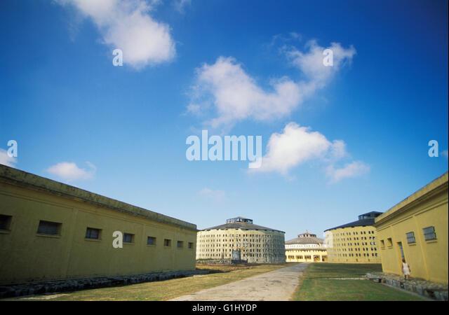 Presidio Modelo, Modell Gefängnis auf der Isla De La Juventud wo kubanische Staatschef Präsident Fidel Stockbild
