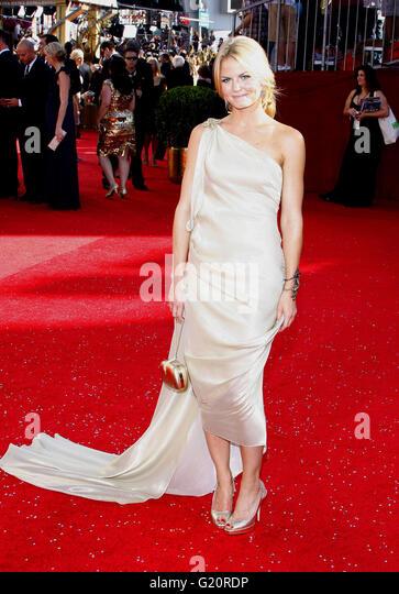 Jennifer Morrison auf der 60. Primetime EMMY Awards im Nokia Theater in Los Angeles, Kalifornien, USA auf Septe Stockbild