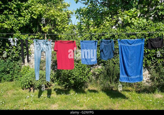 Spin dry stockfotos spin dry bilder alamy - Wasche im schlafzimmer trocknen ...