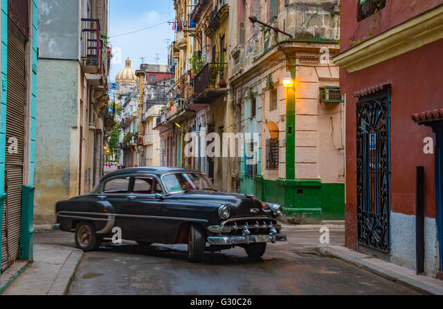 La Habana Vieja, Havanna, Kuba, Karibik, Karibik, Mittelamerika Stockbild