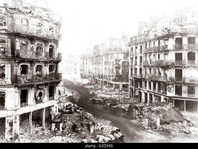 Paris, Frankreich, nach der Kommune 1871.     Datum: 1871 Stockbild