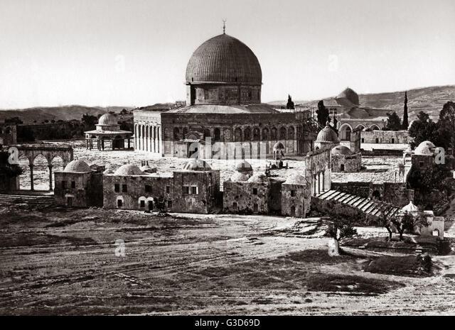 Moschee ca. 1800 s.     Datum: ca. 1800 s Stockbild