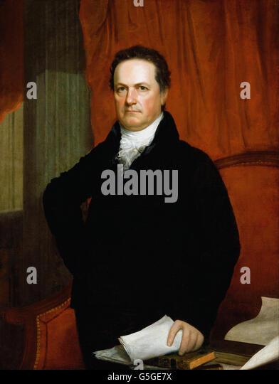 John Wesley Jarvis - DeWitt Clinton Stockbild