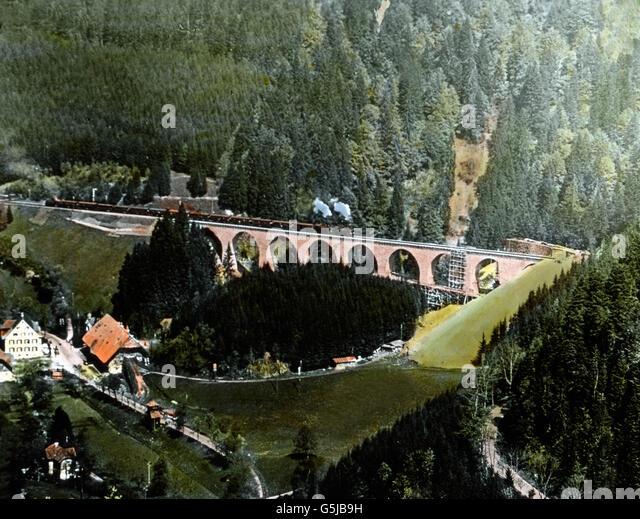 Eine der grossen Naturschönheiten Artikelwort Gegend ist sterben Ravennaschlucht Mit Wildromantischem Wasserfall. Stockbild