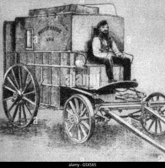 Roger Fenton, 19. Jahrhundert Stockbild