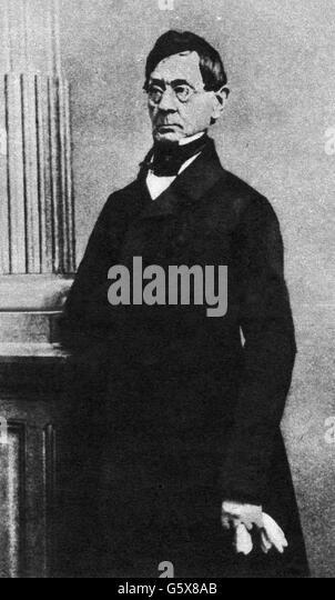 Anton Felix Schindler, 19. Jahrhundert Stockbild