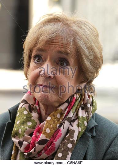 Datei Foto datiert 24.04.2013 Margaret Hodge, die ein Misstrauensvotum in Jeremy Corbyn nach der Volksabstimmung Stockbild