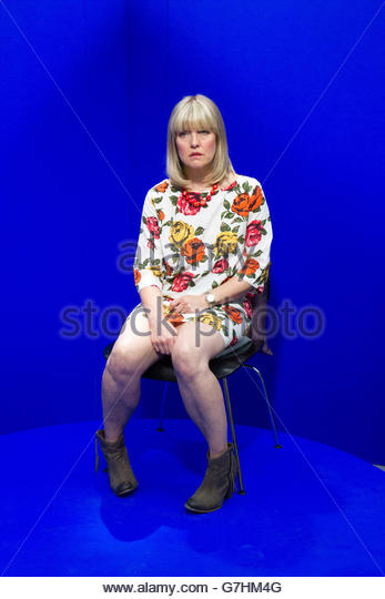 Schottische Schauspielerin Ashley Jensen Stockbild
