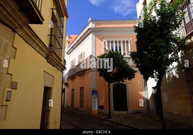 Plaza San Marcos, Jerez De La Frontera, Andalusien, Spanien Stockbild