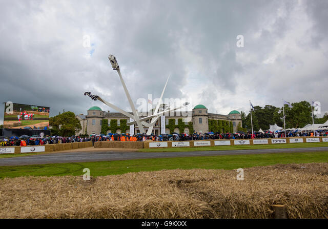 Goodwood Festival of Speed 2016 Stockbild