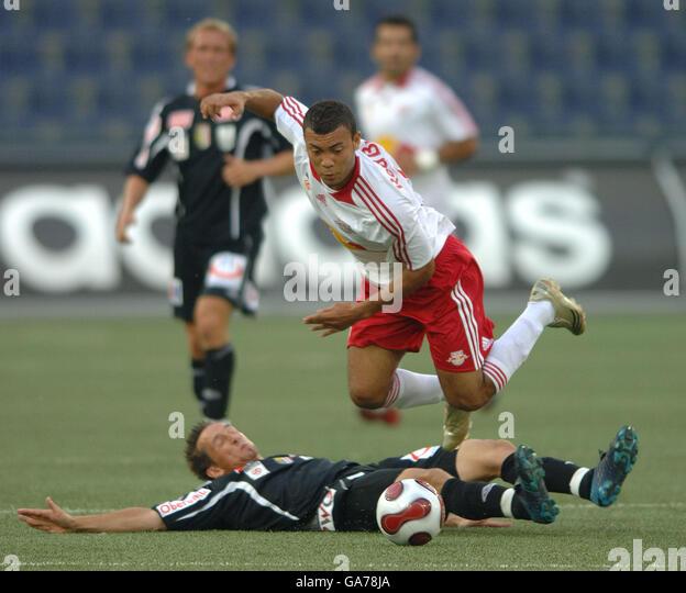 Lask Linz: Johan Vonlanthen Red Bull Salzburg Stockfotos & Johan