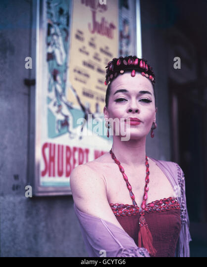 "Joan McCracken in ""Mir und Julia"", 1953 Stockbild"