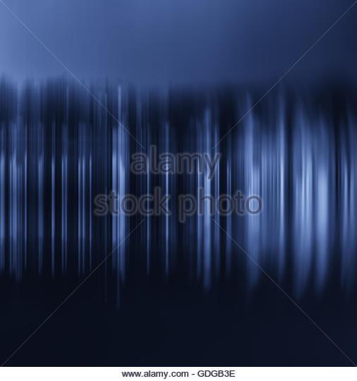 Digitalen Welle Frequenzanalysator Stockbild