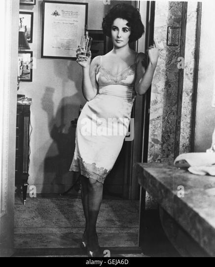 ELIZABETH TAYLOR, 1960 in Dem U.S.-Spielfilm BUTTERFIELD 8 *** lokalen Caption *** 0, Taylor, Elizabeth, Elizabeth - Stock-Bilder