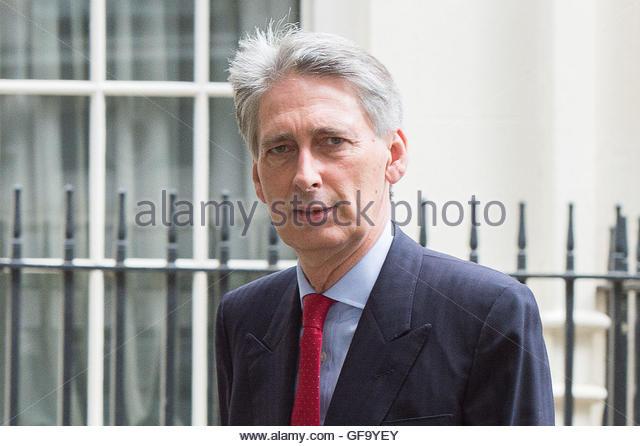 Datei Foto datiert 27.06.15 Kanzler Philip Hammond, die fordert, dass ein Commons-Bewegung der Verachtung gegen Stockbild