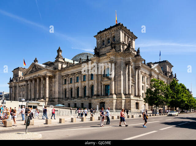 bundestag parliament berlin germany europe stockfotos bundestag parliament berlin germany. Black Bedroom Furniture Sets. Home Design Ideas