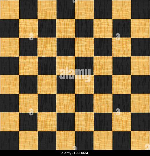 Vintage knacken alten verkratzten leeren Schachbrett. Abstract Grunge Hintergrund Stockbild
