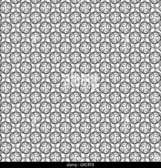 abstrakte geometrische Vintage Tapete Muster Hintergrund. Vektor-illustration Stockbild
