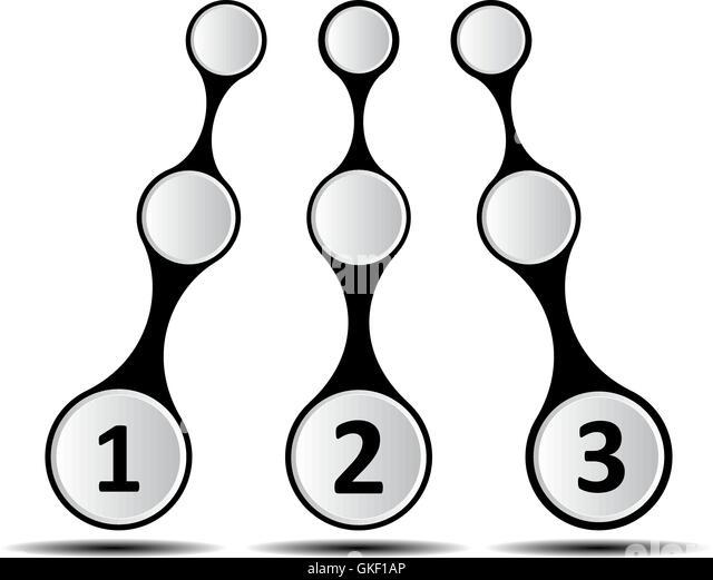 Infografik-Design Stockbild