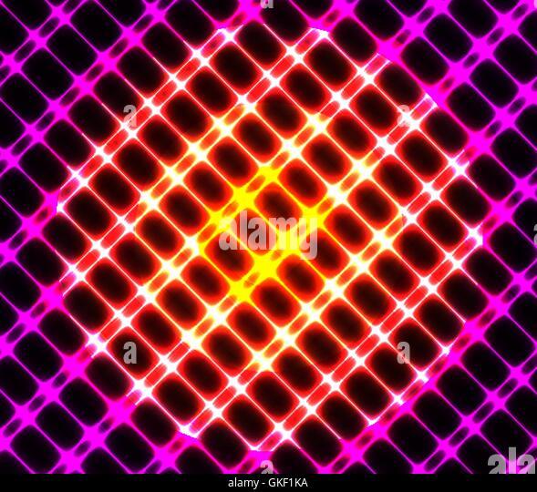 Vector Illustration Farbe abstrakte leuchtenden Hintergrund Stockbild