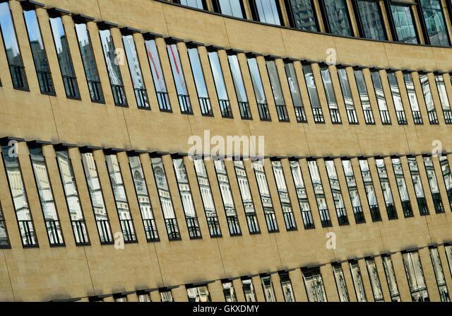 Die Deutsche Bank, 1 großen Winchester St, London Wall, London EC2, Vereinigtes Königreich Stockbild
