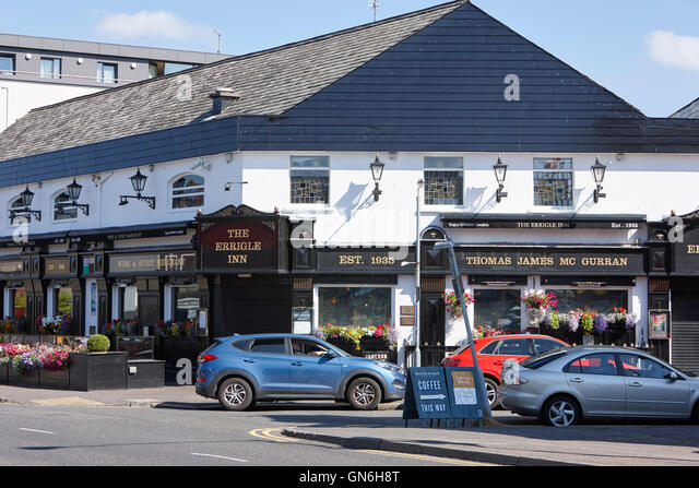 Das Errigle Inn Ormeau Road Belfast Stockbild