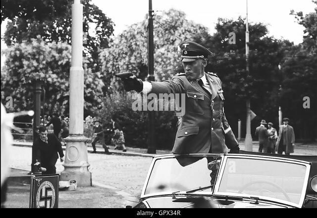 FREILANDFORSCHUNG 2016 LD Unterhaltungsfilm mit Detlef Bothe als Reinhard Heydrich Stockbild